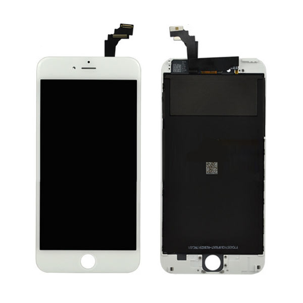 new styles 90f79 c24df Apple iPhone 6 Plus LCD and Touch Screen Assembly – White